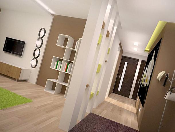 Натяжные потолки в дизайнерском эко-стиле