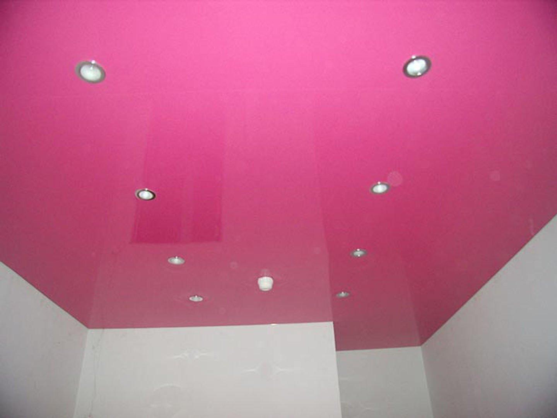 Цветные натяжные потолки